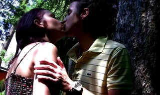 See the way legal age teenager whore enjoys hawt sex in outdoor environment