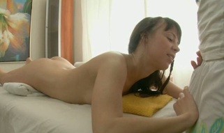 Beauty gets a huge sex toy on her clits in advance of wild drilling