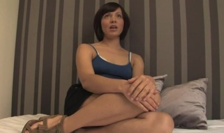 Adulteress blackmailed and dominated in thraldom with anal sex.