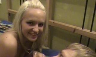 Golden-haired angel and her blonde boyfriend in wonderful xxx action