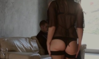Chubby sweetie goes mad from rear fuck and hot pinches