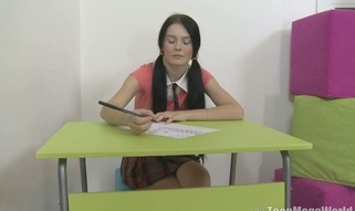 Teen afterschool for detention is used for sex