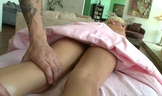 Chick gets salacious drilling untill jizz flow spews on her bawdy cleft