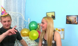 Hot legal age teenager cutie keeps moaning on being screwed doggystyle