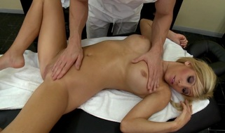 Tasha is stressed out, and the tightness is concentrated particularly on her love tunnel. That Babe attends to a massage session for some relief. Johnny, the masseuse, understands what kind of a full body massage that babe needs and as a courtesy this chab provides a really thorough bumpers treatment as well as a hard shlong to give her the good fuck this babe's looking for.