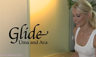 Ava and Uma's awesomely juicy and slippery massage sensation